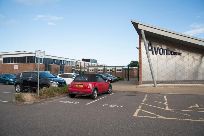 Avonbourne entrance to car park
